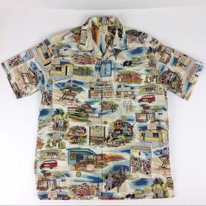 The Beachcomber Button Up S/S Shirt Men's M